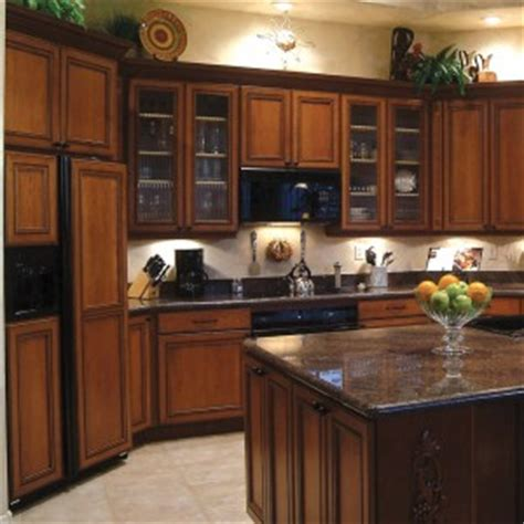 Restaining Oak Cabinets Dark by Rustic Kitchen With Wooden Dark Cherry Cabinet Refacing