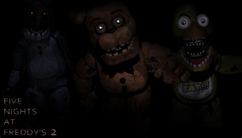 Five Nights At Freddys 2 Wallpaper Old F B C By