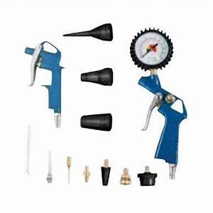 Accessoire Pour Compresseur D Air : kit de 13 accessoires pour compresseur bricozor ~ Edinachiropracticcenter.com Idées de Décoration