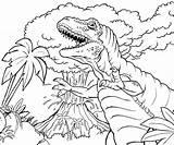 Volcano Coloring Printable Prehistoric sketch template