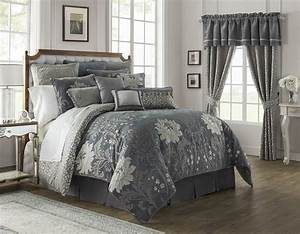 Ansonia, Pewter, By, Waterford, Luxury, Bedding