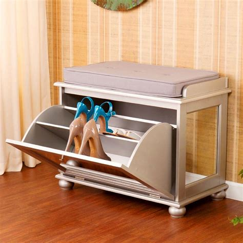 Bench Shoe Cabinet by Ten Things That Always Clutter Up Your Apartment