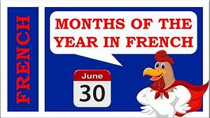 French Months Of The Year Pronunciation  Plus Seasons