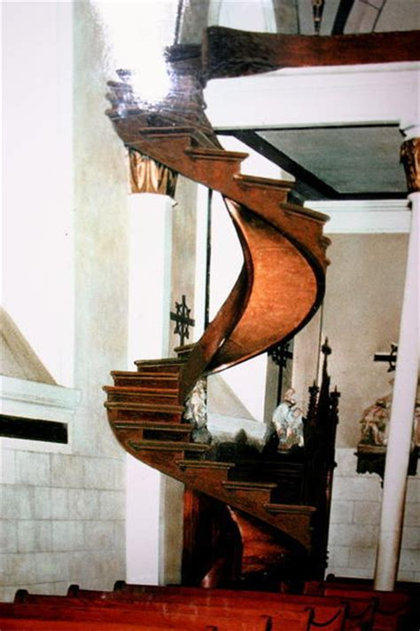 New Mexico Church With Spiral Staircase loretto chapel