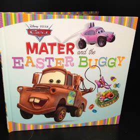 Dan the Pixar Fan: Cars: Mater and the Easter Buggy Book