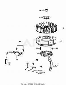 Troy Bilt 4p90juc Engine Parts Diagram For 4p90juc