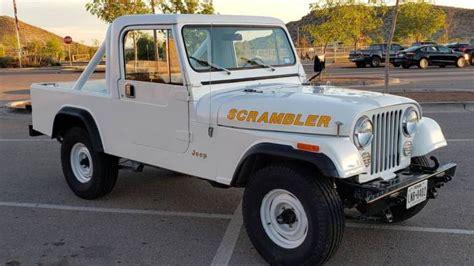 jeep scrambler cj  manual  sale  el paso tx