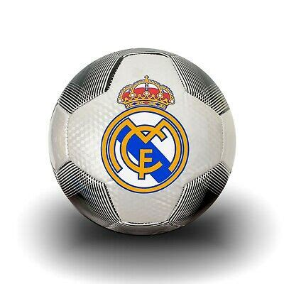Real Madrid Soccer Ball Size 4, Licensed Real M. Football ...