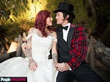 Jackson Rathbone, Sheila Hafsadi Wedding Photos | PEOPLE.com