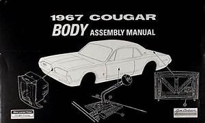 1967 Mercury Cd Repair Shop Manual  U0026 Parts Book Cougar