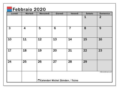 calendari febbraio giorni festivi svizzera michel