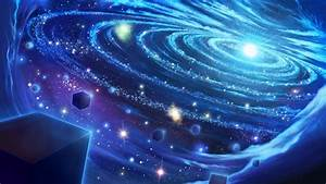 Blue Space Wallpaper - WallpaperSafari