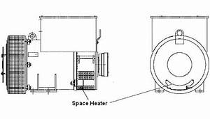 Installation Procedure For The Space Heater On Generator