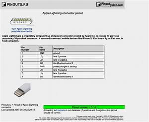 Lightning To Usb Cable Wiring Diagram