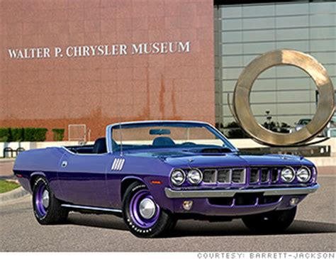 1971 Hemi 'cuda  Ultrarare Cars Going Up For Auction At