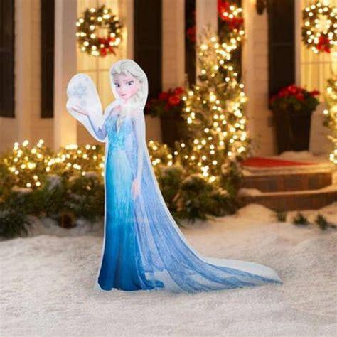 disney frozen  elsa snowflake airblown christmas