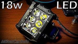 Best Review Of Auxbeam 18w Off Road Led Light   With