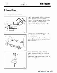 John Deere Timberjack 660d Skidder Workshop Manual Pdf