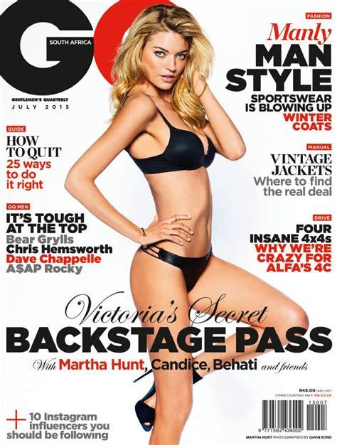 On To Victoria's Secret: Angel Martha Hunt was model ...