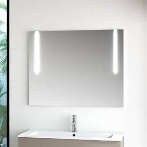 Miroir Étagère Salle De Bain : miroir salle de bain 50x80 cm horizontal ou vertical firenze ~ Melissatoandfro.com Idées de Décoration