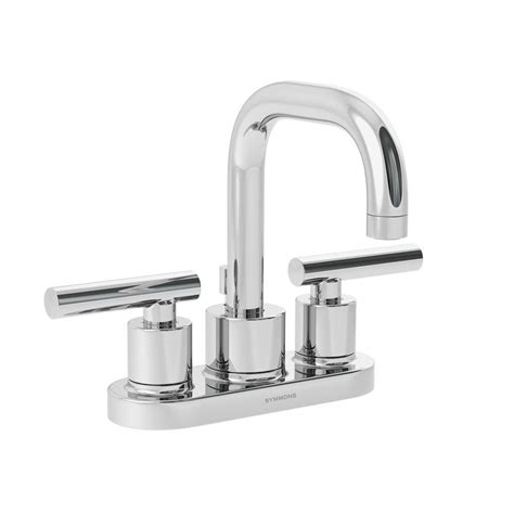 moen chateau 4 in 2 handle low arc bathroom faucet in