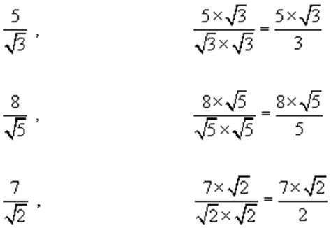 surds revise number gcse maths