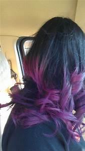 Purple Ombre hair | Hair | Pinterest