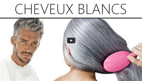 traitement naturel contre les cheveux blancs