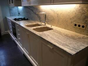 Plan De Travail Granit Pas Cher : plan de travail cuisine en marbre plan de travail agglomr ~ Premium-room.com Idées de Décoration