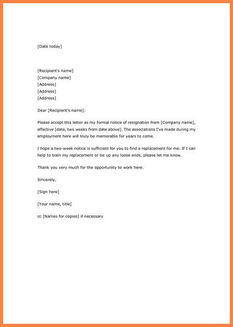 week notice letter larry colton