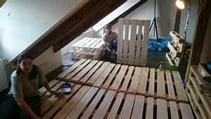 Matratze Auf Paletten : sofa couch wohnzimmer aus euro paletten diy manuel kuehner ~ Markanthonyermac.com Haus und Dekorationen