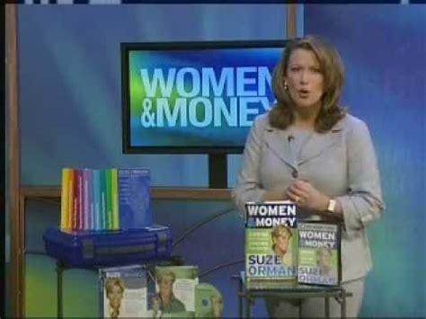 suze orman women money pbs special natl pledge breaks