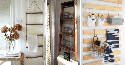 Bathroom Wall Storage Ideas by 20 Hanging Bathroom Storage Ideas The Most Of The