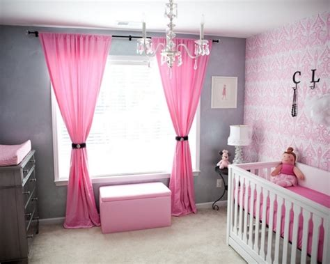 chambre a partager chambre bébé fille en gris et 27 belles idées à
