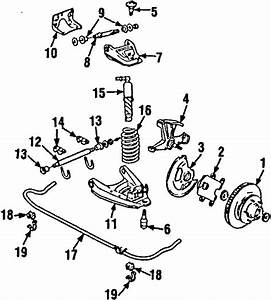 Gmc C1500 Suburban Suspension Stabilizer Bar Bracket