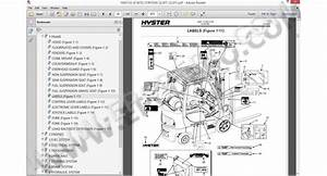 Hyster Forklift Spare Parts Manual Epc