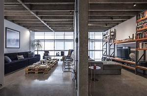 Revamped Modern Industrial Apartment in the Iconic