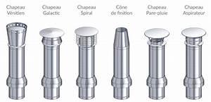 Chapeau Inox Pour Tubage : sortie de toit ronde en inox pour maison individuelle ~ Edinachiropracticcenter.com Idées de Décoration