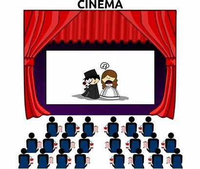 Clipart Theatre Clip Movies Cliparting