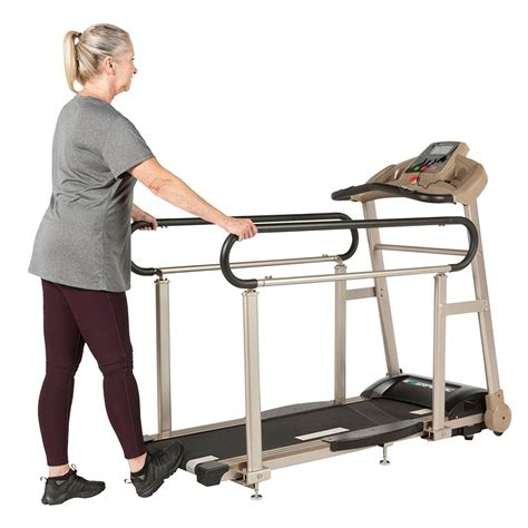 exerpeutic tf2000 treadmill walking rails deck fitness length seniors treadmills hand recovery amazon therapy monitoring cushions rate heart shipping physical