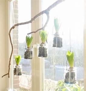Fensterdeko Zum Hängen : fr hlingshafte fensterdeko fenster dekor fr hling deko ~ Watch28wear.com Haus und Dekorationen