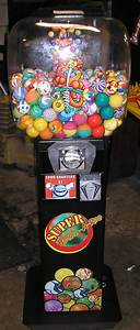 Super Bounce-a-roo Merchandiser Arcade Machine Game For Sale By Ok Manufacturing