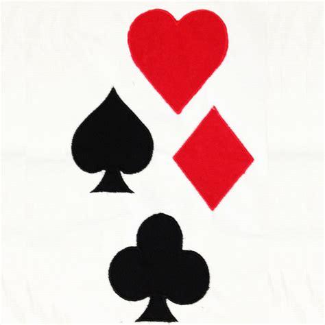 playing card symbols club heart diamond  spade machine