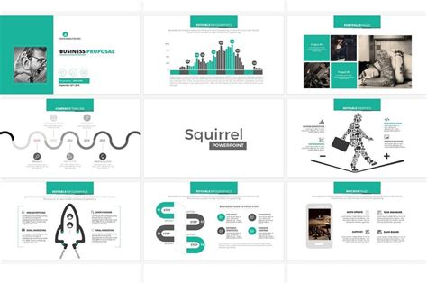 minimal powerpoint templates  design shack