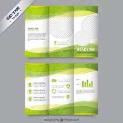 Green Brochure Template Free