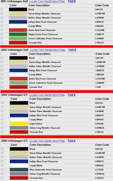 28 100 vw paint code registration sportprojections