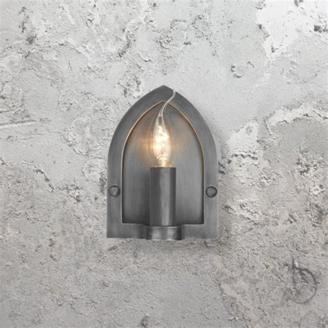 pewter wall light cl 25252 e2 contract lighting