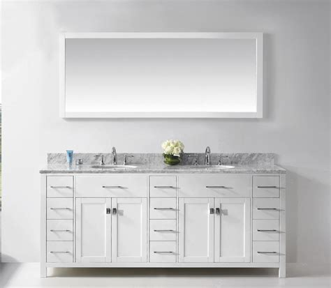 undermount bathroom sink with tile rectangle white solid wood bathroom vanity cabinet