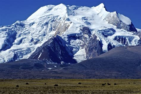 the himalaya mountains the land of snows