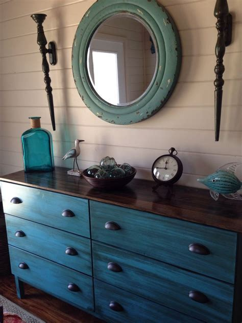 My ikea tarva dresser makeover.   Lake House   Master
